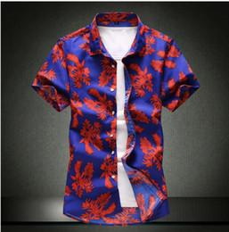 $enCountryForm.capitalKeyWord Canada - 2019 Spring Summer Casual Shirt Men High Quality Mens Dress Shirts Solid Slim Fit Short Sleeve Men's Shirt Asian Size 4XL