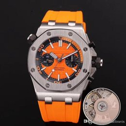 Wholesale New Mens Watch ROYAL Rubber Strap Automatic Imported Mechanical mm Delicate Steel Case Men Watches Transparent Back Wristwatch