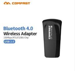 Ethernet Cf Card Australia - Comfast CF-WU725B Bluetooth 4.0 150Mbps Mini Wireless USB WI-FI Adapter LAN WIFI Network Card Support Window2000 XP Vista WIN7