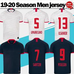 Bulls shorts jersey online shopping - 2020 Red bulls home soccer Jerseys Bundesliga league club SABITZER POULSEN away Soccer Shirts Men customized Football Uniforms