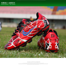 Soccer Shoes For Women Australia - Outdoor shoes 2019 Boys Kids Football Boots Soccer Shoes for Children Soccer Cleats Shoes Women Chaussures De Football Homme