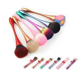 Hair paintings online shopping - Soft Powder Paint Makeup Brushes Powder Foundation Blush Conture Brush Large Bulk Paint Makeup Brushes Makeup Tools LJJR281