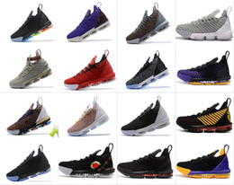 2019 Neue Farben Lebron 16 XVI König Ich verspreche Outdoor-Schuhe James 16 Outdoor-Schuhe 16 Basketball-Schuhe Größe us7-12