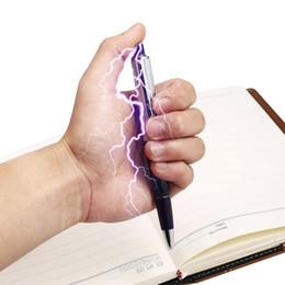 $enCountryForm.capitalKeyWord Australia - Electric Shock Pen Practical Joke Gag Prank Funny Trick Fun Gadget April Fool Toy New Fashion Electric Shock Pen