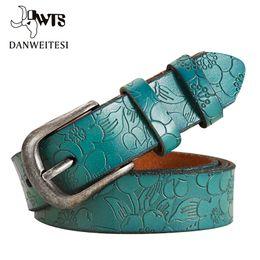 $enCountryForm.capitalKeyWord NZ - [DWTS]Belts Thin Genuine Leather womens 6 Colour Floral carved Belts For Women Ceinture Femme Belt female C19010301