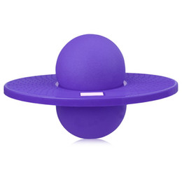 space balls NZ - Energetic Exercise Jumping Bounce Yoga Fitness Ball Rock Hopper Pogo High Bounce Space Balance Jump Board Ball Jumping Toy Balls Uralr