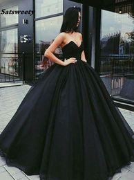 $enCountryForm.capitalKeyWord UK - Elegant Sweetheart vestidos de graduacion Long Formal Evening Dress Tull vestido formatura Ball Gown Prom Dresses 2019