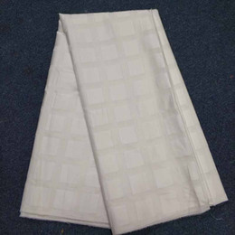 $enCountryForm.capitalKeyWord Australia - ALUMO Cotton Swiss Voile Lace Fabric 2018 High Quality African Lace Fabric 100% Cotton Nigerian Cotton for Man Women White Color