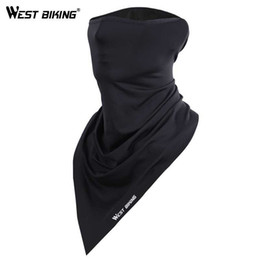 cycle bandana face mask Australia - Summer Cycling Face Mask Anti-sweat Breathable Cycling Caps Running Bicycle Bandana Sports Scarf Face Mask Men Women