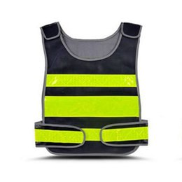 safety work clothing NZ - High Visibility Reflective Vest Road Working Safe Clothes Motorcycle Cycling Protective Tank Tops Sports Outdoor Safety Clothing