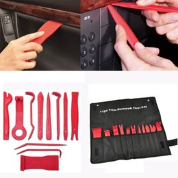 Car interior trim molding online shopping - New Arrival Hot Sale Car Trim Door Panel Removal Molding Set Kit Pouch Pry Tool Interior Van DIY Dropshipping