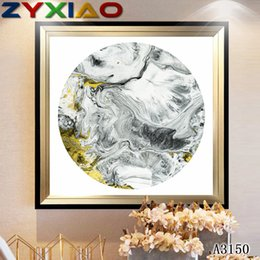 life size pictures Australia - ZYXIAO Big Size Oil Painting Art abstract white yellow color Home Decor on Canvas Modern Wall Art No Frame Print Poster picture A3150
