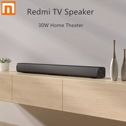 Wholesale Xiaomi Redmi TV Bar Speaker Wired and Wireless 30W Bluetooth 5.0 Home Surround SoundBar Stereo for PC Theater Aux 3.5mm