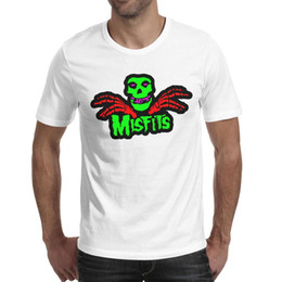 $enCountryForm.capitalKeyWord Australia - The Misfits Pop art 2019 Summer personalised T Shirt For Men cool funny graphic tees shirts