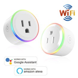 $enCountryForm.capitalKeyWord Australia - WiFi Mini Smart Plug Wireless Smart Socket with Night Light Timer Function Device Sharing no Hub Required APP Remote Control from Anywhere