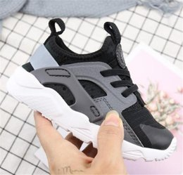 Wholesale Child New big Kids Huarache 4.0 Running Shoes Children fashion Hurache Casual Trainers Breathable Classical Sneakers Infant Baby Size 28-35