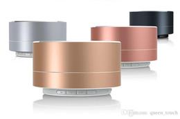 $enCountryForm.capitalKeyWord Australia - A10 Modern Aluminum Alloy Cylinder Mini Speaker Wireless Bluetooth Speaker Calls Handsfree TF Card Music Bass Subwoofer Stereo Speaker