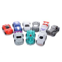 Plastic Jeep Australia - Transformation Mini Cars Classic Robot Car Kid Toys For Children Action & Toy Figures Plastic Education Deformation Boys Gifts
