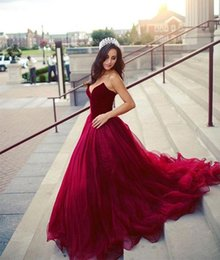 White Gown Red Roses Australia - Women Fashion Rose Red Sweethear Tulle Ball Gown Long Evening Dress Lace Up Back Prom Dress For Formal Occasion Party Custom Plus Size