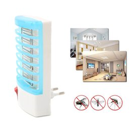 Discount electronic bug zapper - 220V EU US Plug Electronic Mosquito Killer Lamp Anti Mosquito Repellent Fly Insect Killer Bug Zapper Household Mosquito