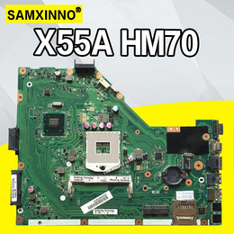 test mainboard 2019 - X55A HM70 SLJNV mainboard For ASUS X55A DDR3 PGA989 Laptop motherboard MAIN BOARD REV2.1 REV2.2 100% Tested Working disc