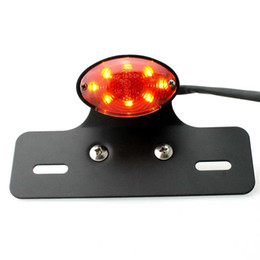 $enCountryForm.capitalKeyWord UK - CAR Motorcycle Quad ATV Turn signal 14 LED Brake License Plate Integrated Tail Light