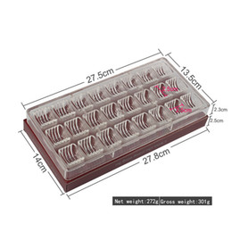 $enCountryForm.capitalKeyWord Australia - 3D Cylindrical Corrugated Chocolate Mold 24 Grid Clear Chocolate Candy Jelly Cookie Mold Decoration Making Cake Mould Tray Tools