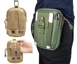 tube canvas 2019 - Tactical Molle Hip Multi-function Bags Outdoor Camping Climbing Bag Sport Waist Belt Wallet Running Pouch Purse Phone Ca