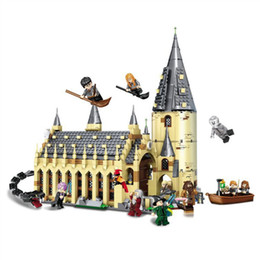 $enCountryForm.capitalKeyWord Australia - 926PCS Harri Movie Potter Sets 16052 Compatible With Model Building Kits Castle Hall Blocks Toys 75954 JP39144