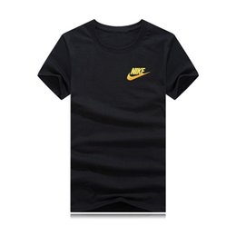 Print Quality Lycra T Shirts UK - 2019 New summer men women clothes High Quality Tees Pure Cotton o-neck T Shirt Summer 9 color Men Tshirt s-5xl