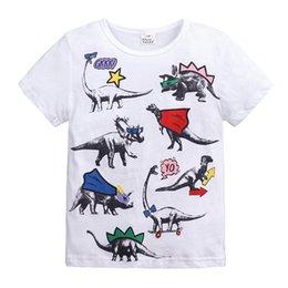 2019 nova T-shirt de verão de estilo europeu boy's T-shirt das crianças boutique de manga curta infantil venda por atacado