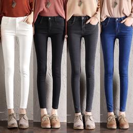 Girl jeans hiGh waist online shopping - High Waist Skinny Jeans for Women Spring Summer Vintage Fashion Boyfriend Girls Slim Denim Pencil Pants Plus Size