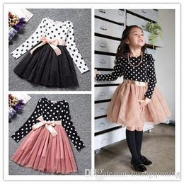 $enCountryForm.capitalKeyWord Australia - Boutique Children Clothes Long Sleeve Girls Dress Infantil Party Vestidos Kids Formal Ball Gowns Tulle Girls Princess Wedding Costume 3-8Y
