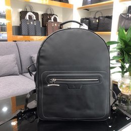 genuine leather rolls 2019 - backpack 9162-1 MEN FASHION BACKPACKS BUSINESS BAGS TOTE MESSENGER BAGS SOFTSIDED LUGGAGE ROLLING BAG cheap genuine leat