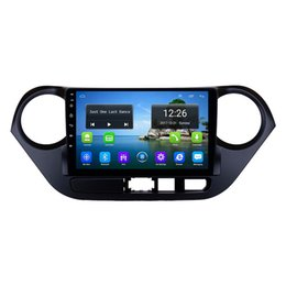 Chinese  Android 4G LTE HD 1080P car MP3 Music player high quality wallpaper precise GPS navigation front camera for Hyundai i10 9inch manufacturers