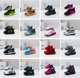 Toptan satış Ayakkabı 72c Yastık Casual Ayakkabı Koşu Çocuklar Erkekler Kızlar Serbest zaman etkinlikleri Sneakers Gençlik Çocuk bebek Koşu nefes Running