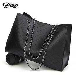 $enCountryForm.capitalKeyWord NZ - ZMQN Leather Bags For Women 2019 Luxury Handbags Women Bags Designer Big Tote Hand Bag Chain Leather Handbag Set Bolsa Feminina Y190606
