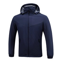 Mens coat xxxl online shopping - Luxury Mens Designer Jackets Windbreaker Black Blue Men Women Designer Winter Jackets Mens Clothing Coat Size L XXXL