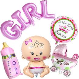 $enCountryForm.capitalKeyWord Australia - Inflatable toys Aluminum balloon reusable use Baby shower decorations party activitie 5pcs Y709