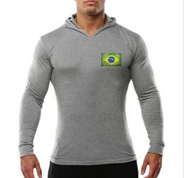 $enCountryForm.capitalKeyWord Australia - Gym Fitness Fashion New Men's Outdoor Sports Long-sleeved Sanitary Clothing Rectangular Globe Printing sell well Sweater