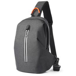 Mens Leather Messenger Bags UK - Ygdb Brand Mens Messenger Crossbody Bags Casual Leather Blue Sling Small Flap Handbag Solid Shoulder Bag Male M0612