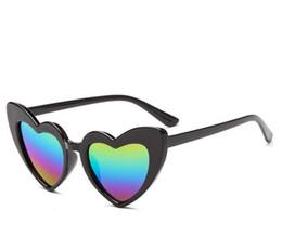 5c2d79ed14 New Ins Kids Gafas de sol de moda en forma de corazón Adumbral Cute  Designer Frame Eyewear Baby Girls Sunglasses Playa Gafas de sol Niños B11