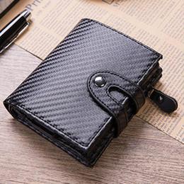 Metal Wallet Card Australia - New Aluminum Wallet Credit Card Holder Metal with RFID Blocking Multifunction Wallet Travel Metal Case Men Card Holder Black