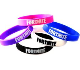 $enCountryForm.capitalKeyWord Australia - Hot Sale game Fortnite Silicone Bracelet Bangle jewelry Royale Night Bracelets Birthday Party Favor Fans Gift Wristband for Men Women Kids