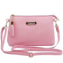 Small Handbags Sale Australia - good quality Women Famous Tassel Small Handbags Hot Sale Crocodile Women Leather Messenger Bags Shoulder Mini Crossbody Bag