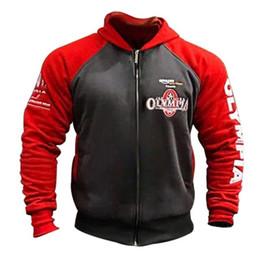 $enCountryForm.capitalKeyWord Australia - Mens Gyms Cotton Hoodie Sweatshirts Male Autumn Winter Fashion Casual Zipper Hooded Jacket Man Joggers Workout Sportswear Tops MX190803