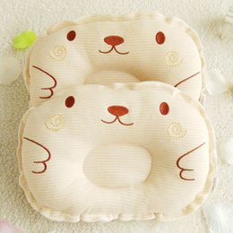 anti flat head pillow baby Australia - Newest Newborn Toddler Infant Baby Anti Roll Sleep Pillow Babies Positioner Prevent Flat Head Cushion Lovely Cute Pillows free shipping 2020