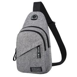 China xiniu 2019 New Fashion Messenger Bags Men Oxford Cloth Badge Chest Bag Wild Small Bag Fashion Pockets cheap cloth hobo bags suppliers