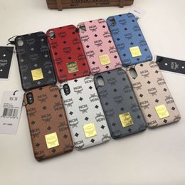 max print 2019 - For iPhone 7 iphoneX 6 6S 7plus Fashion Brand Printing Silicone Phone Case For iPhone 8 8plus TPU Soft Case cheap max pr