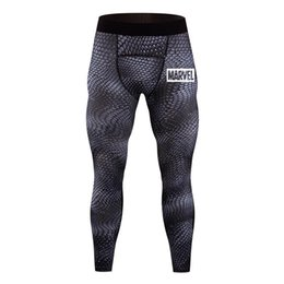 Wholesale compression wear online – Men Sports Wear Tights Running pants men Compression trousers Bodybuilding Skinny Leggings Joggers Pants Fitness Yoga Pants